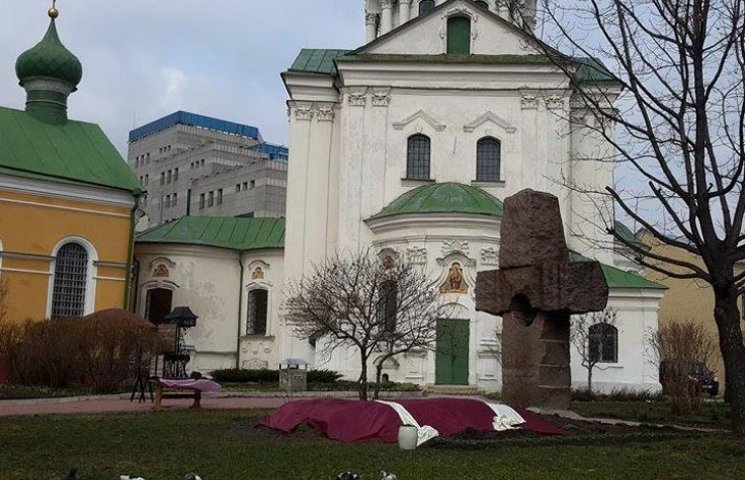 Місце, де буде похований Георгій Гонгадзе