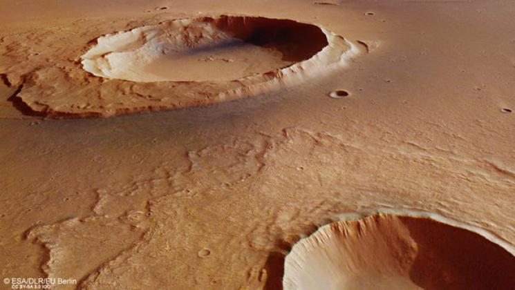 Ученые отыскали свидетельства сумасшедшего потопа, который охватил Марс вдревности