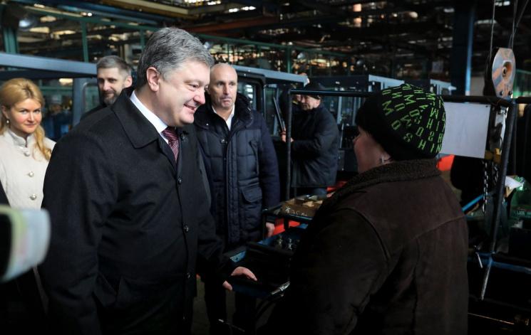 Уменя небыло цели стать президентом— Порошенко