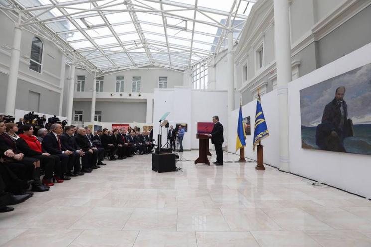Порошенко вручив премії імені Тараса Шев…