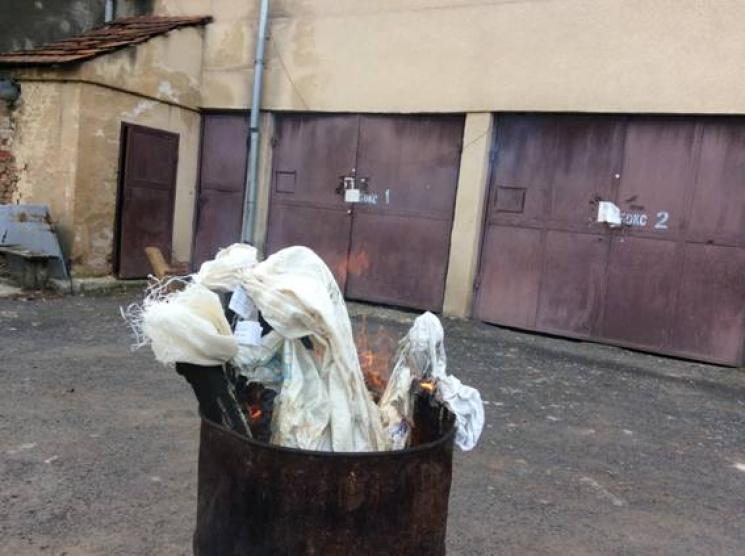 У Мукачеві спалили наркотики вартістю 100 тис. грн