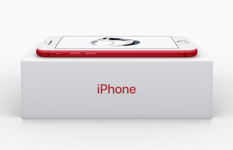 Apple випустила iPhone 7 вновому кольорі