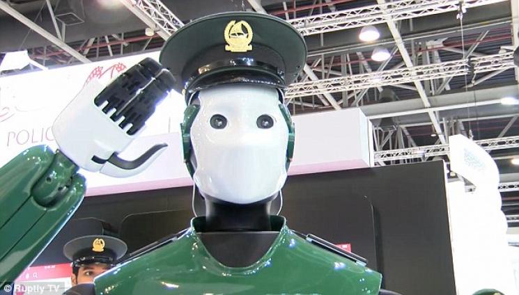 ВДубае роботы-полицейские будут патрулировать улицы