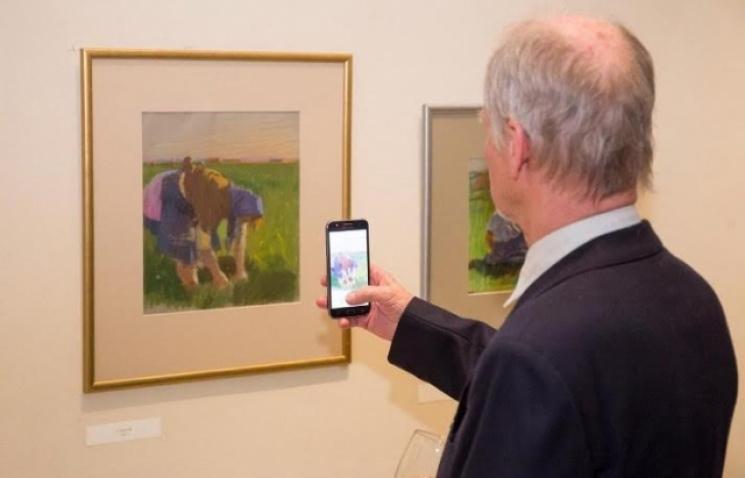 У Будапешті відкрили виставку робіт закарпатського митця Гаврила Глюка