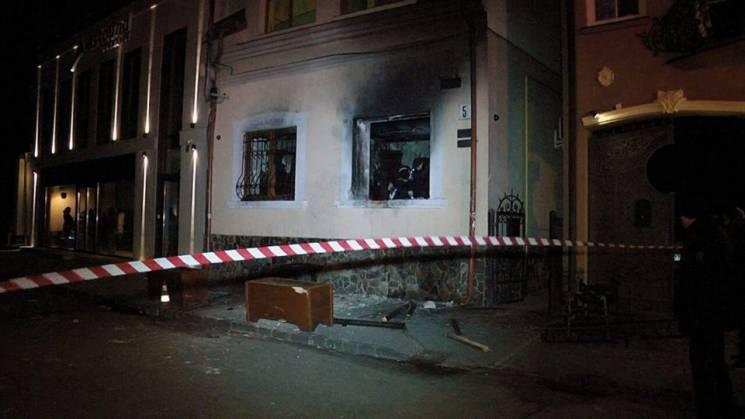 Москаль: До підпалу офісу угорського товариства вУжгороді причетні учасники АТО
