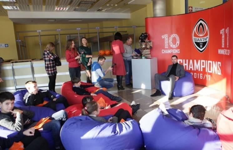 Шахтер участвует всоздании спортивной инфаструктуры Мариуполя