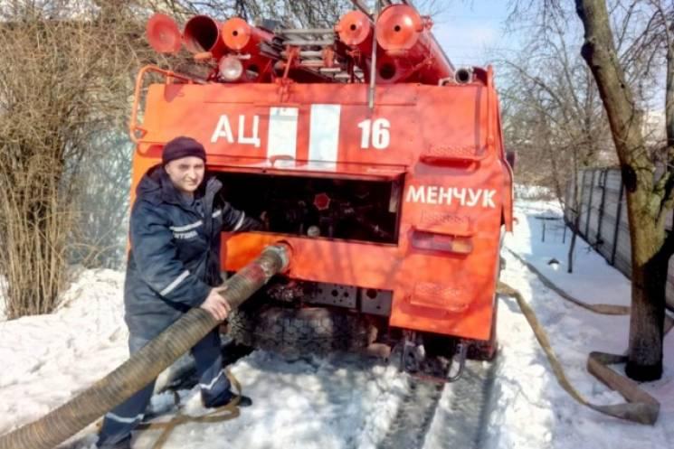 На Полтавщині тала вода почала підтоплювати житлові будинки