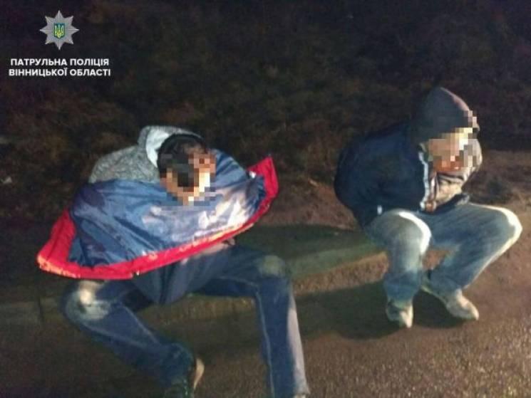 Двоє п'яних вінничан утікали від патрульних і спричинили дві аварії (ФОТО)