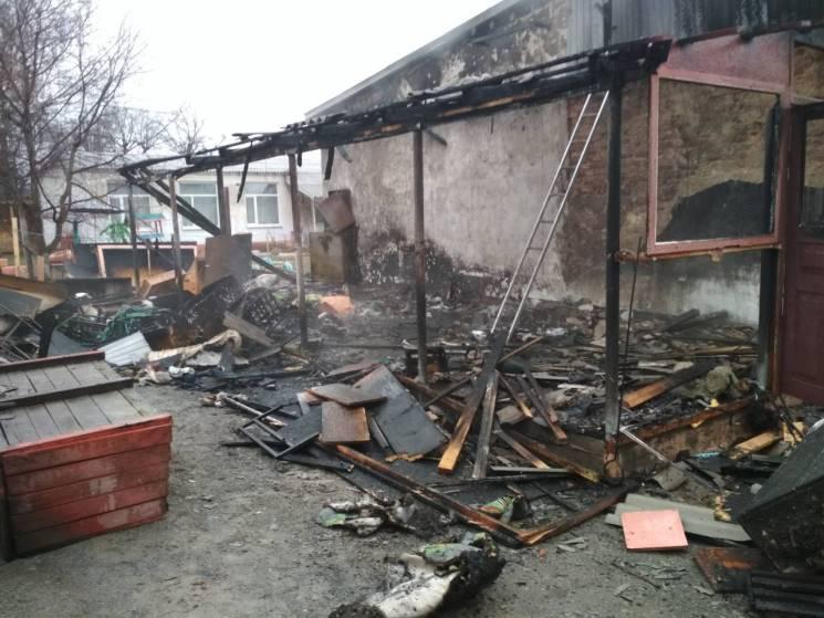 На Вінниччині сталася пожежа в дитячому будинку