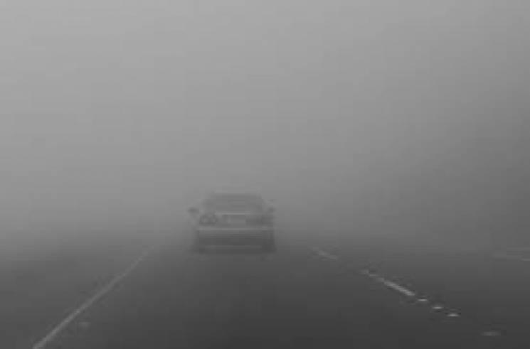 Видимість на дорогах Тернопільщини обмежена