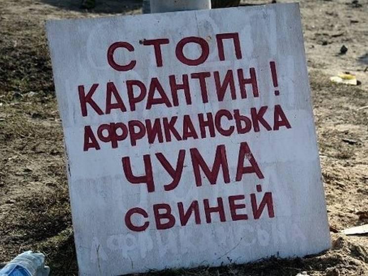 На Полтавщині у Недогарках скасували карантин через АЧС