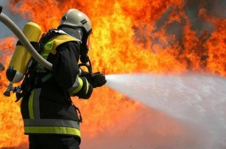 На Вінниччині згорів сільський магазин