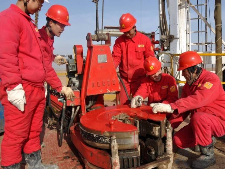 Китайці будують нову свердловину на Полтавщині
