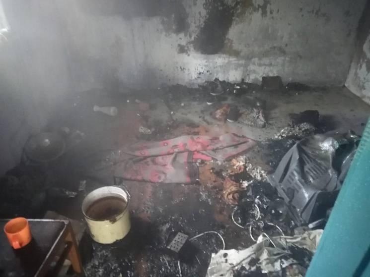 На Запоріжжі у пожежі загинув пенсіонер (ФОТО)