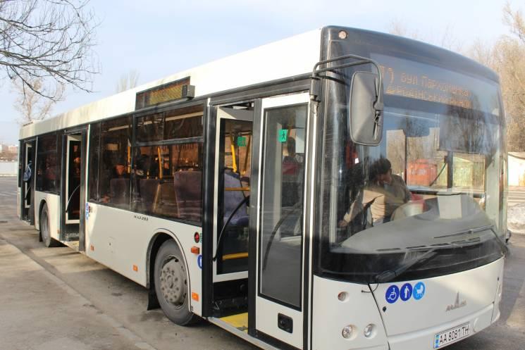 У Запоріжжі для Шевченківського району пустили великі автобуси
