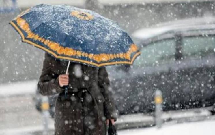 Зима не поспішає покидати Вінницю