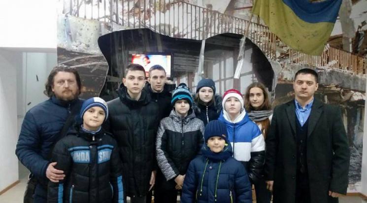 У Кропивницькому вихованці спортшколи відвідали музей третього полку
