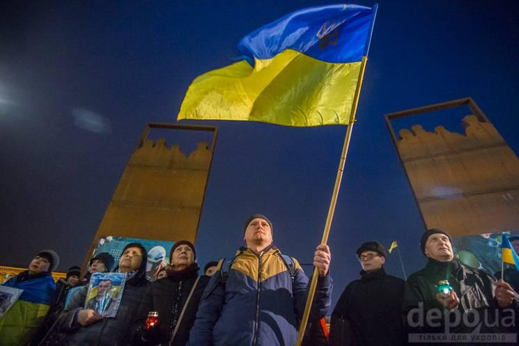 Перша кров на Донбасі: На Майдані вшанували загиблих навесні 2014 року