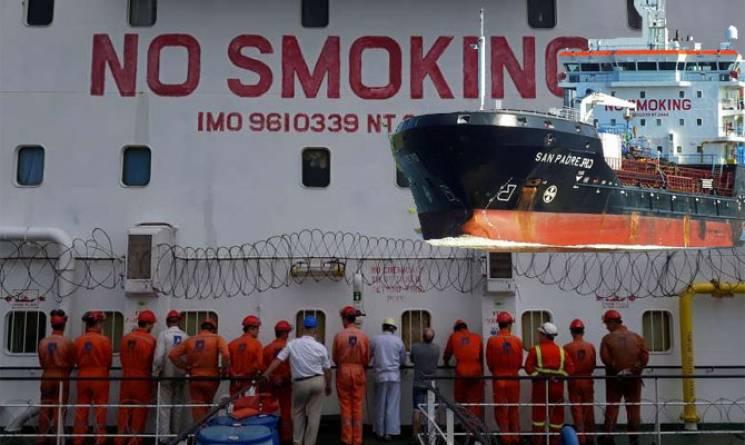 Нігерія арештувала 16 українських моряків (ФОТО)