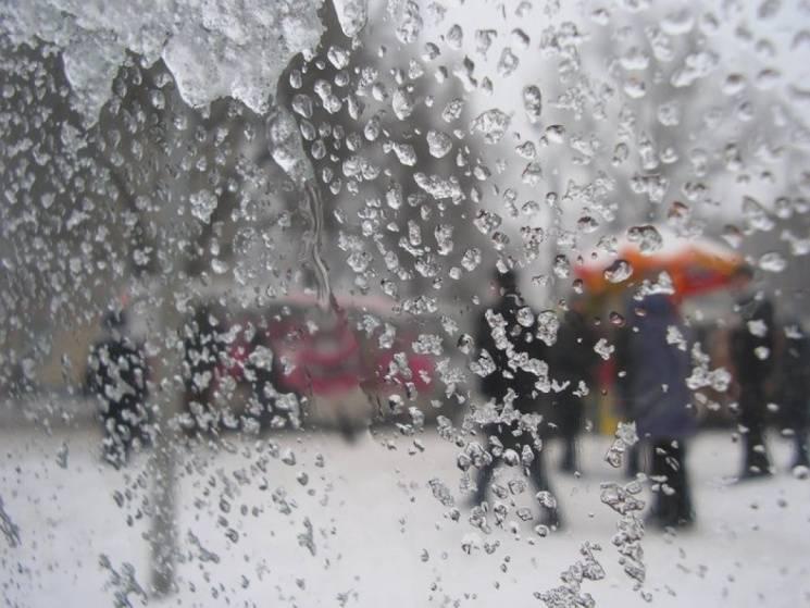"""Мокрий сніг і магнітна буря: Киян попереджають про """"депресивну"""" погоду"""