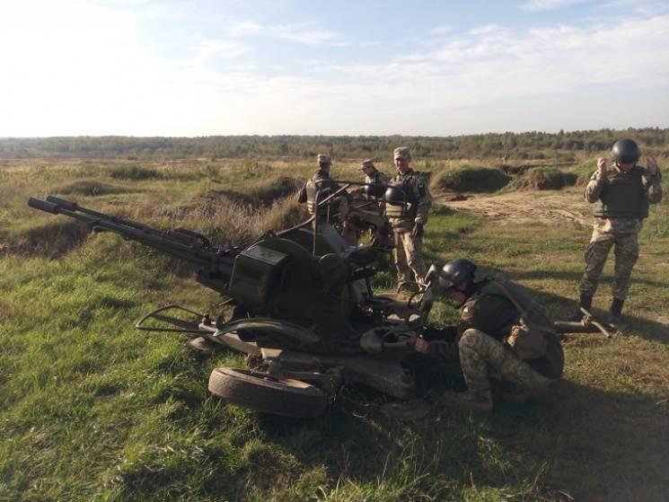 В АТО позиції бригади з Дніпропетровщини обстріляли з зенітної установки