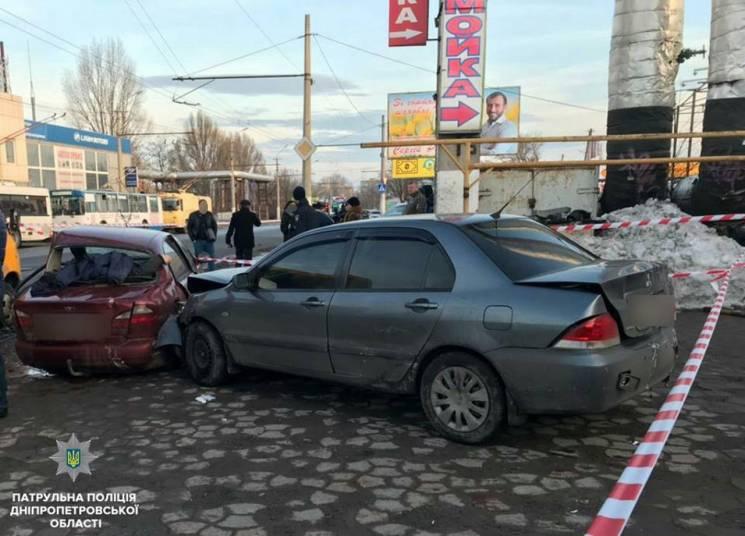 У патрульній поліції розповіли подробиці резонансної погоні за автокрадіями у Дніпрі