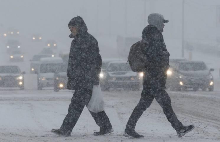 На Хмельниччині обіцяють хуртовини. Снігу насипле до 20 см
