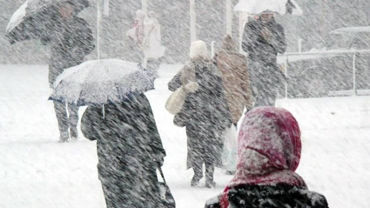 На Закарпаття насувається циклон: Очікуються опади і сильні морози