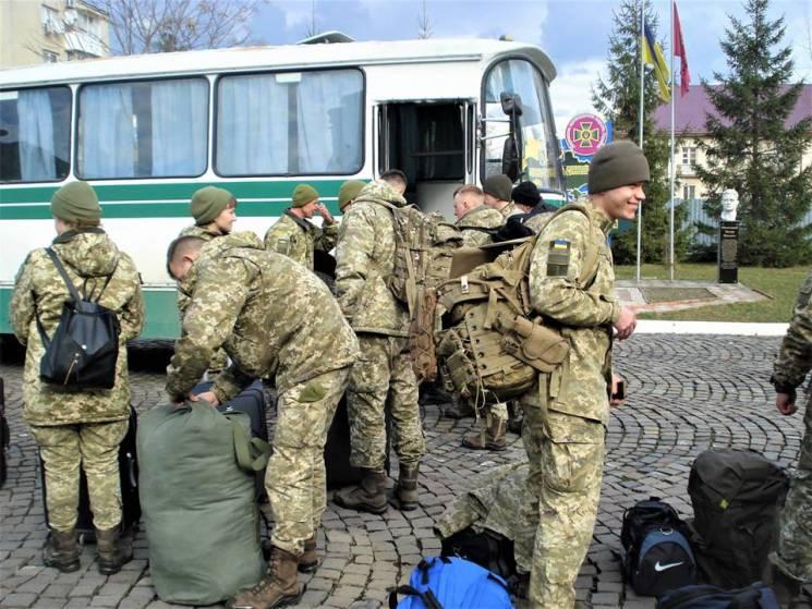 До Закарпаття прибули курсанти-прикордонники для посилення охорони кордону (ФОТО)