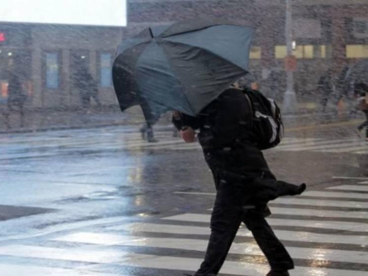 На Дніпропетровщині на три дні оголошено штормове попередження