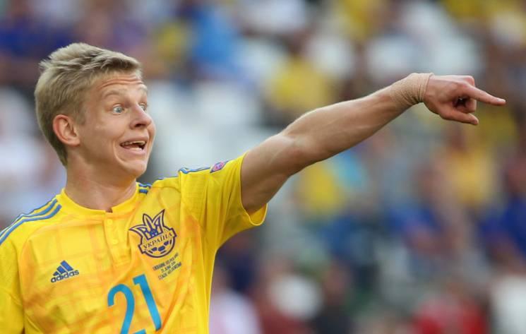 Тренер сборной Украины: Втренировочном процессе мыпосмотрим наигру Зинченко