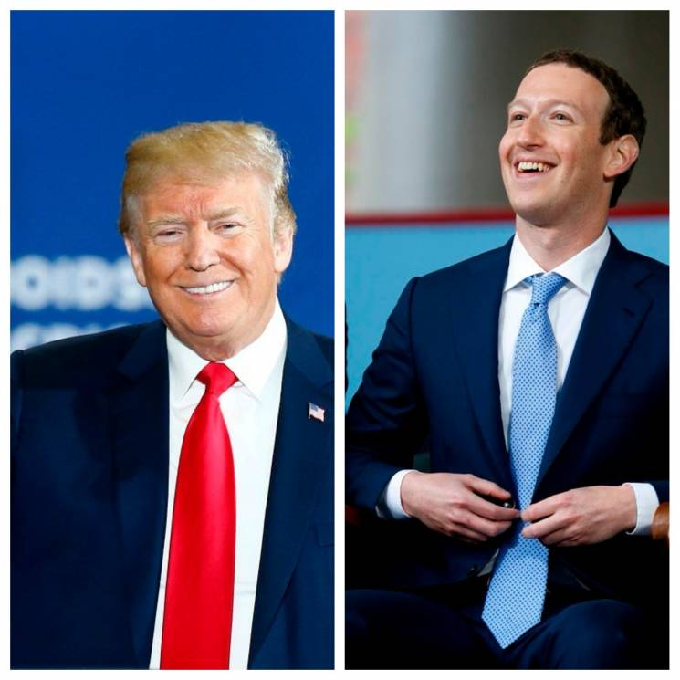 "Трамп і ""внутрішні демони"": Як Цукерберг втратив $6 млрд, а Facebook - репутацію"