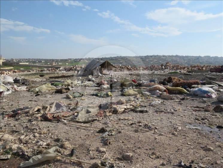 Россия ночью разбомбила сирийских беженцев: 10 погибших и 15 раненых (ФОТО)