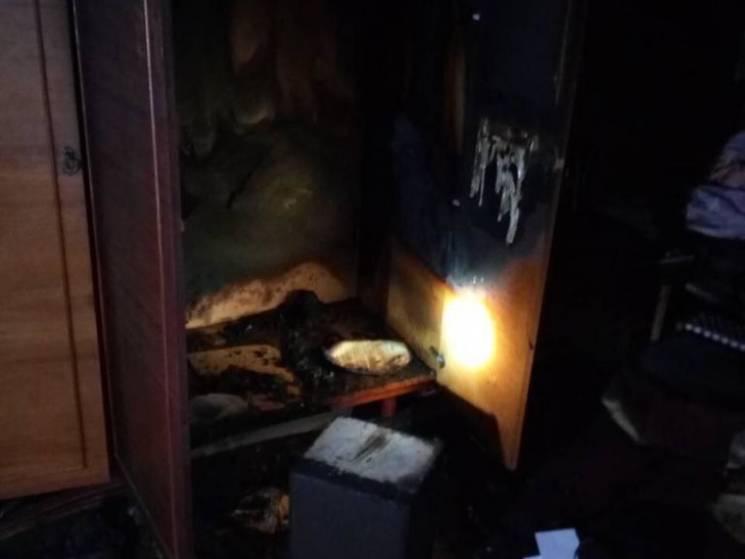 На Дніпропетровщині у пожежі загинув літній чоловік