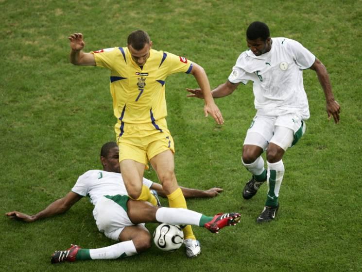 Як збірна України громила Саудівську Аравію в 2006 році (ВІДЕО)