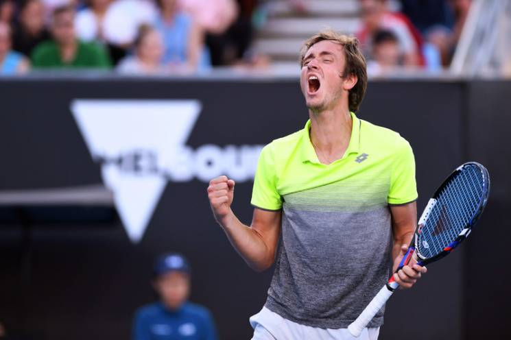 """""""Bullsh...t russian"""": Грецький тенісист змусив росіянина збожеволіти (ВІДЕО)"""