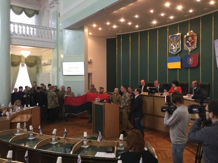 У Хмельницькій області вирішили вивішувати червоно-чорний прапор УПА