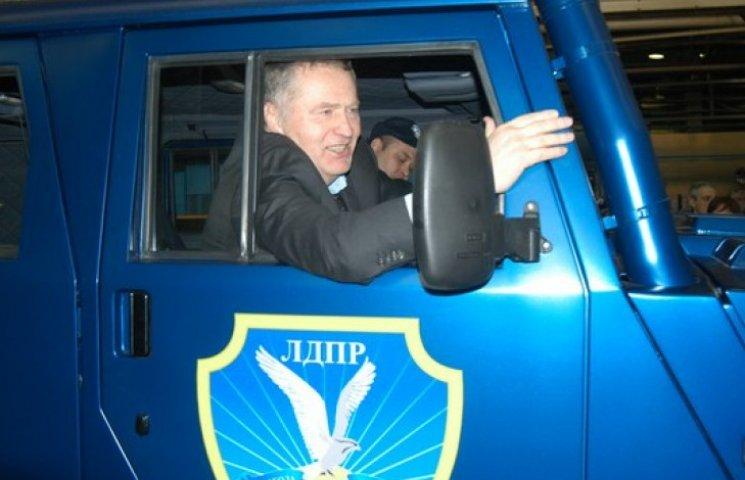 Жириновский отдал луганским сепаратистам своего «Тигра»