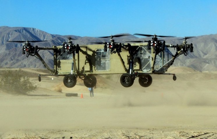 Армия США вооружится беспилотным летающим грузовиком