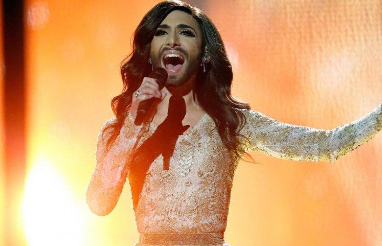 Евровидение 2014: Бородатая Кончита Вурст произвела фурор