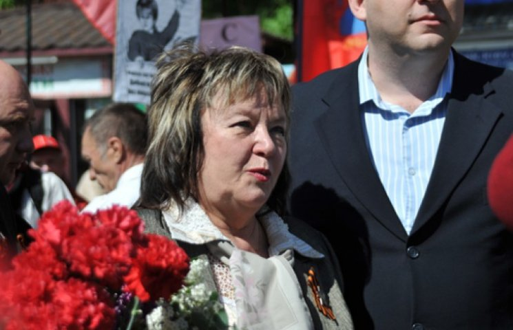 Витренко «воскресла» на шествии к Парку Славы в Киеве