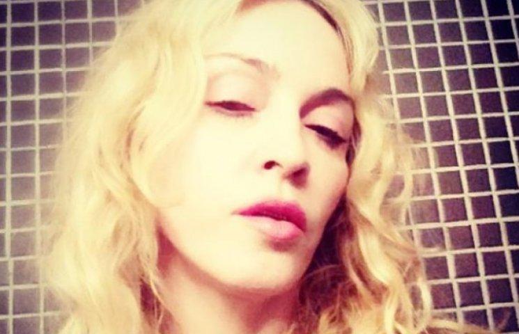 Мадонна поделилась пикантным снимком из ванной