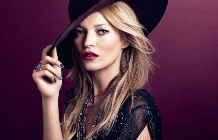 Кейт Мосс представила новую коллекцию макияжа