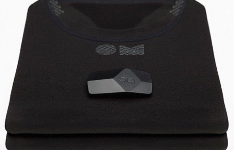 «Умная» рубашка поможет отследить физическую подготовку