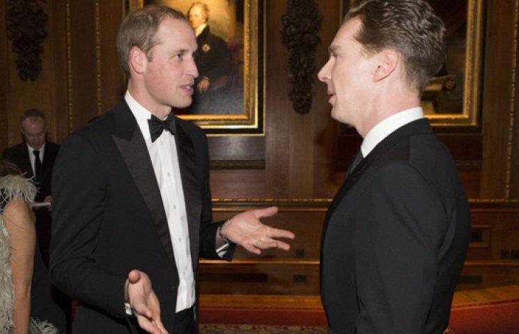 Принц Уильям пригласил в гости Эмму Уотсон и Бенедикта Камбербэтча
