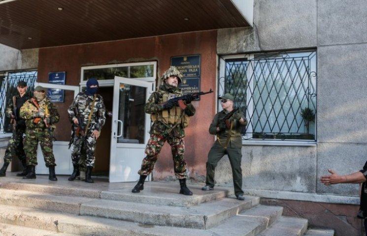 В Антраците сепаратисты захватили избирательную комиссию