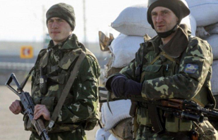 В Донецкой области военные захватили в плен троих террористов