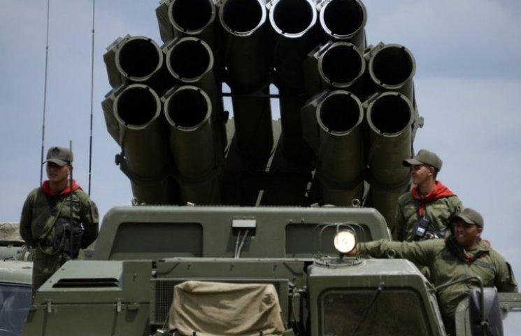 В Красноармейск завезли ракетные установки