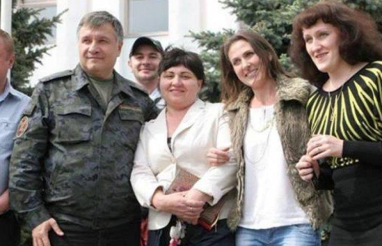 Аваков о самом себе строчит фоторепортажи с Луганщины