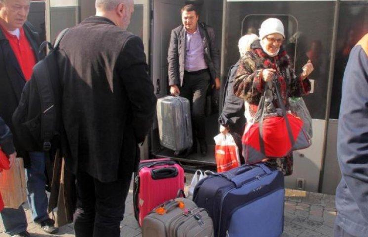 Беженцы из Донбасса спасаются на Львовщине